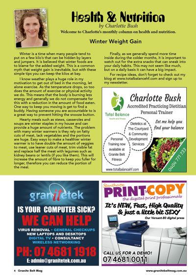 Granite Belt Magazine June 2016