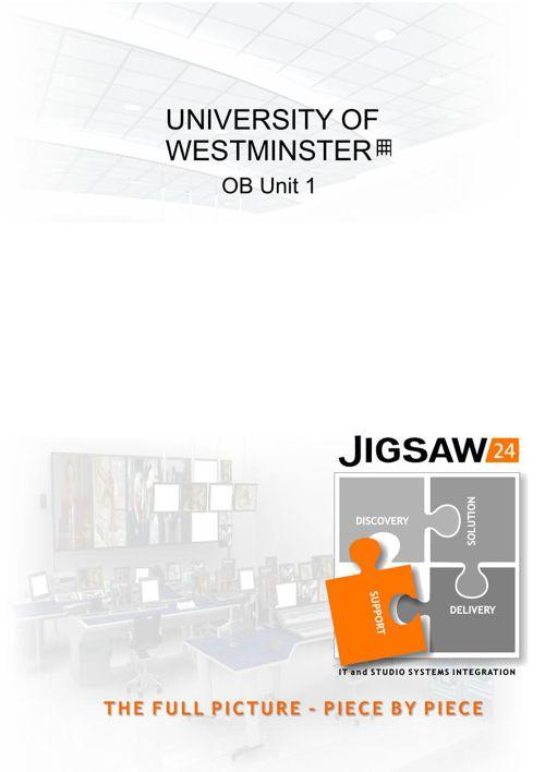 University of Westminster OB1
