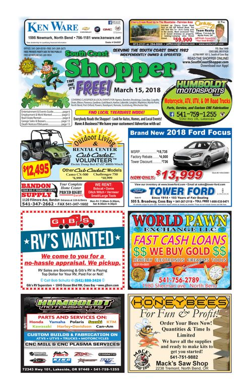 South Coast Shopper e-Edition 3-15-18