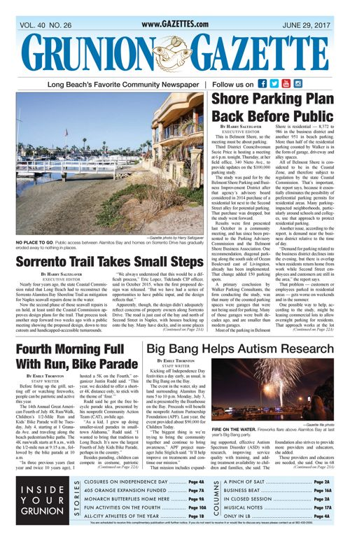 Grunion Gazette  |  June 29, 2017