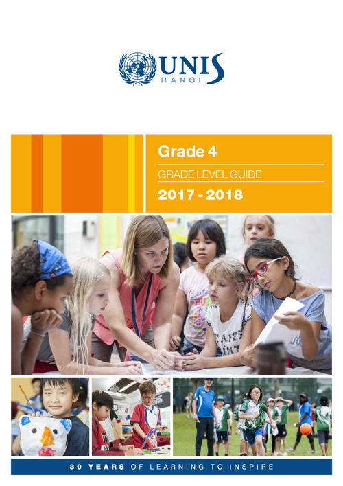 Grade 4 Curriculum Guide 2017-2018