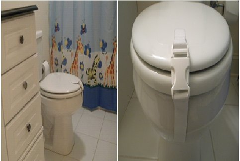 Baby Toilet Safety Lock At Best Price