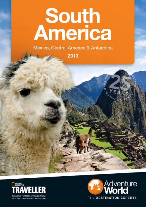 Adventure World South America Brochure
