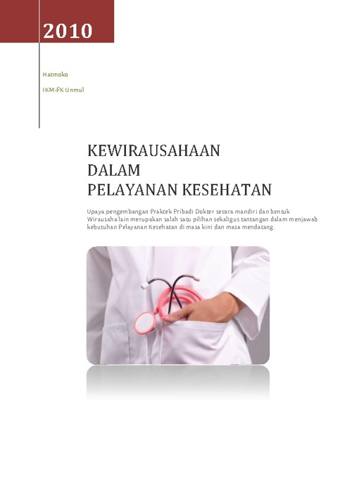 Wirausaha Kesehatan