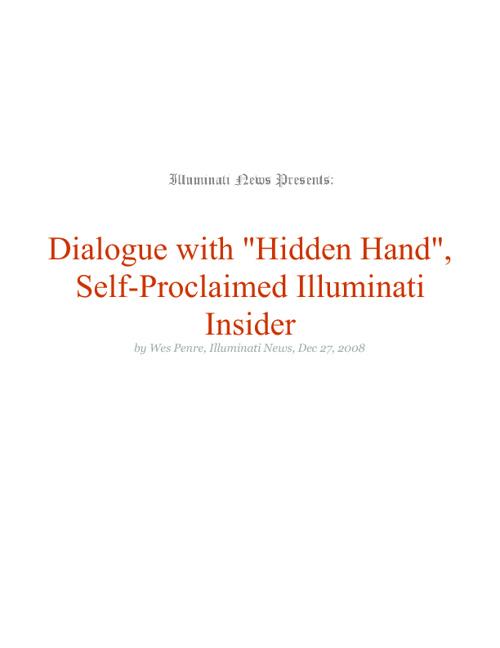 hidden hand interview