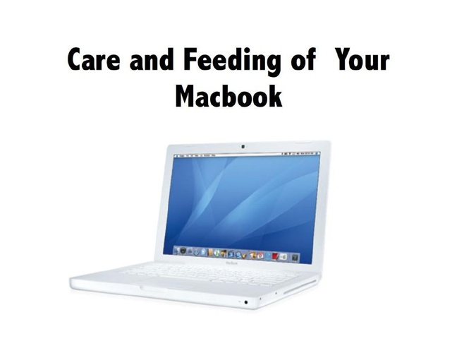 Take Care of Your Mac