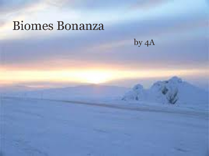 Book of Biomes