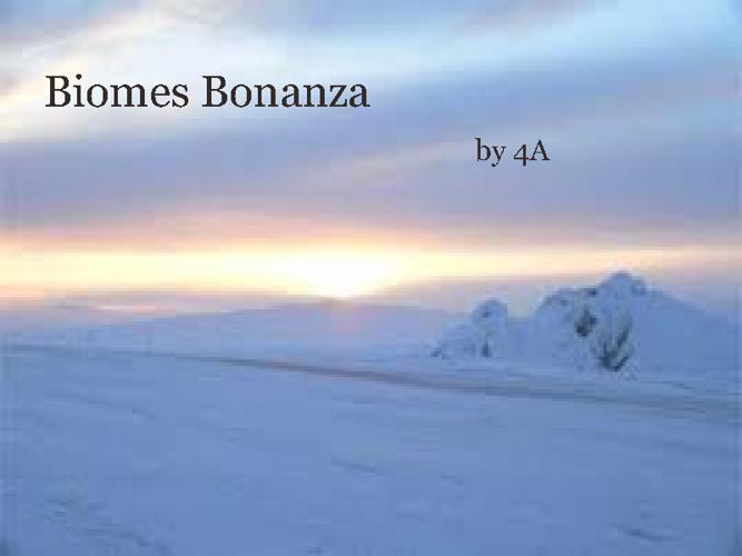 Book of Biomes