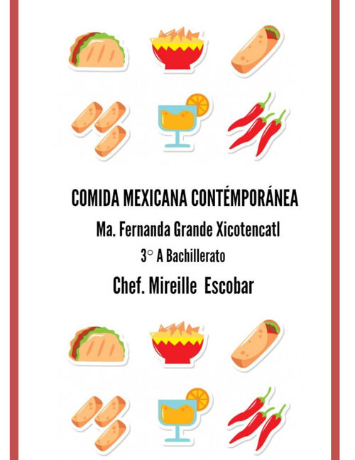 Comida mexicana contemporánea