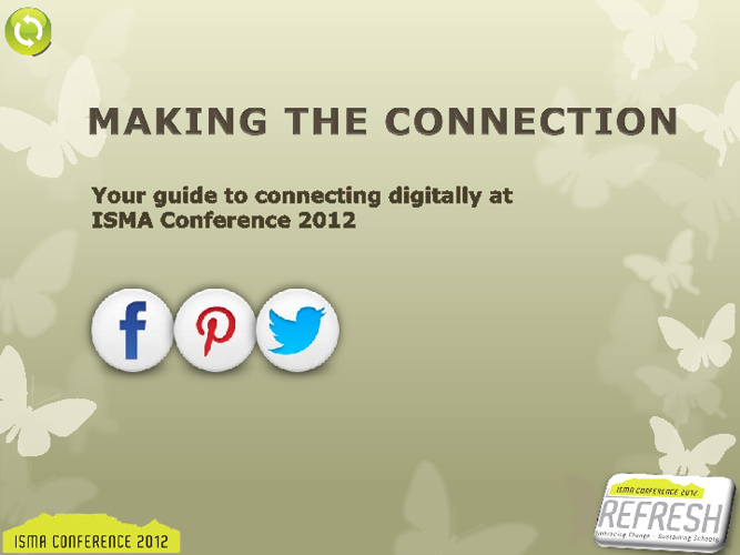 ISMA Conference 2012 - Guide to social media