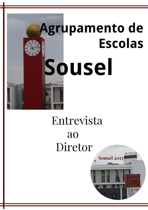 Sousel - Entrevista ao Diretor do Agrupamento de Escolas