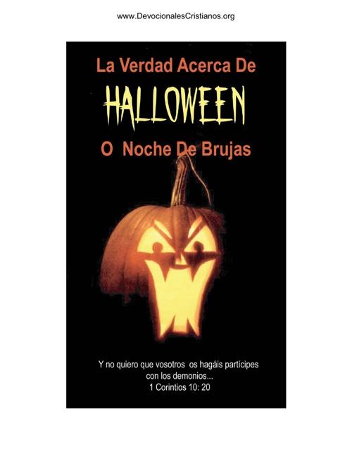 Copy of La Verdad Acerca Del Halloween