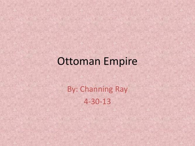 Copy of Ottoman Umpire