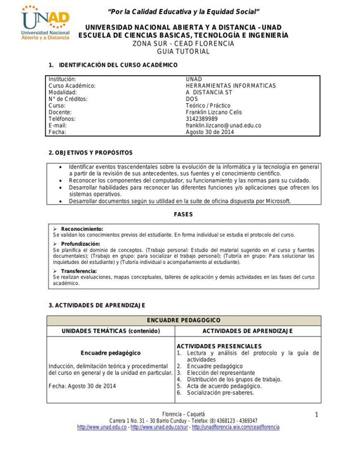 Guia Herramientas Informaticas 2014-II