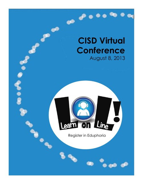 Carroll ISD Virtual Conference Session Brochure