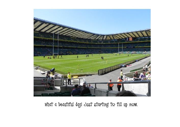 Gaywood's Twickenham Tag Rugby Magazine 2012