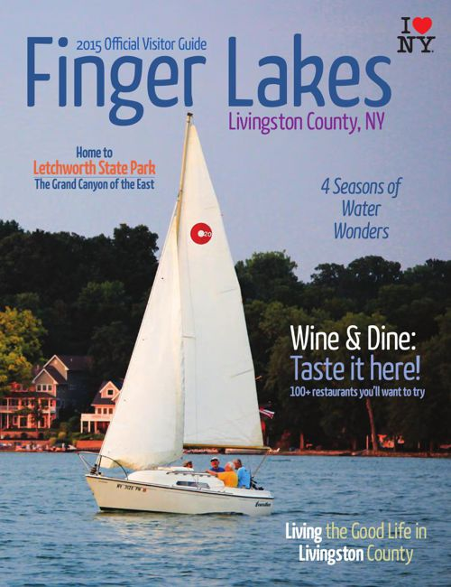2015 Official Visitor Guide to the Finger Lakes, Livingston Coun