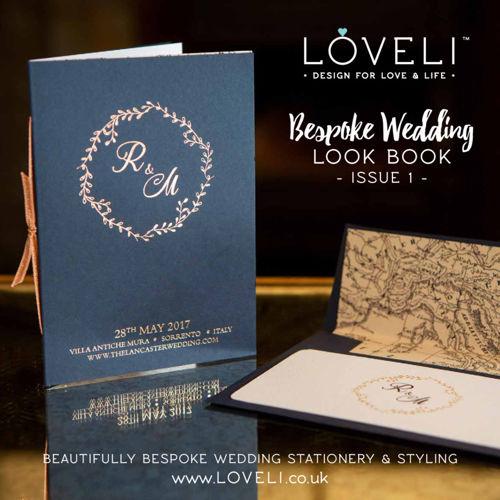 LoveLi Bespoke Wedding Stationery Look Book - Issue 1