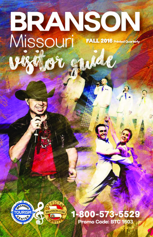 Branson Visitor Guide Fall 2016