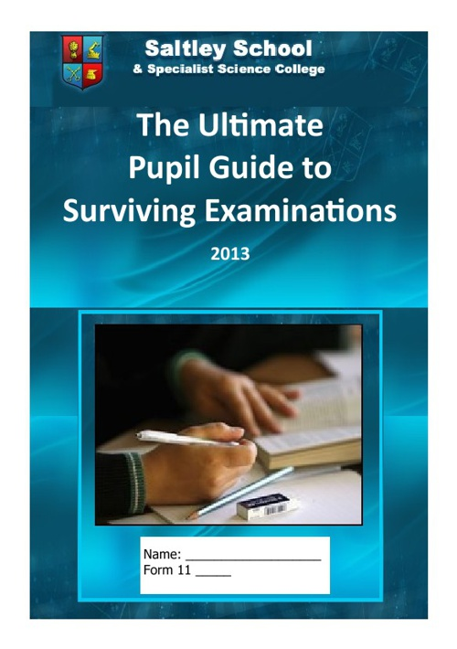 Pupil Guide to Exams
