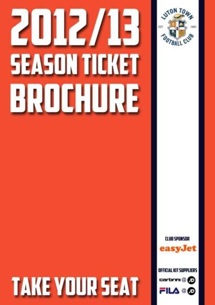 Season Ticket Brochure