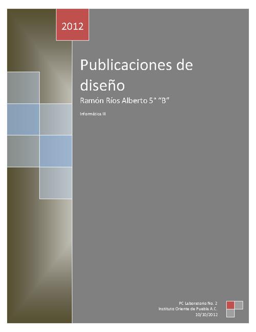 Publicaciones de diseño