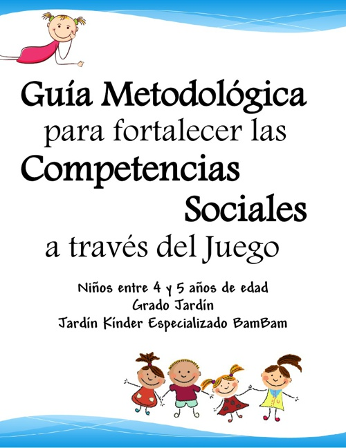 Guia Metodológica Competencias Sociales BamBam