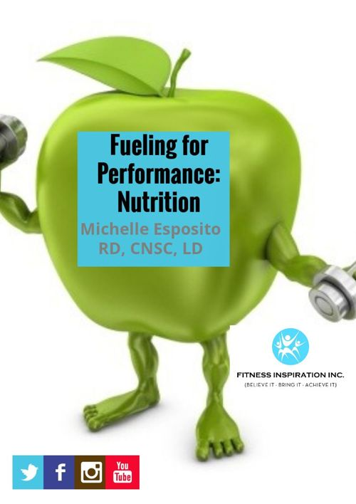 Fueling For Performance: Nutrition: BEST! ME