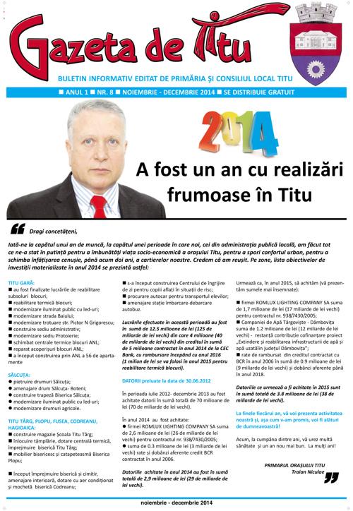 GAZETA DE TITU/NR08