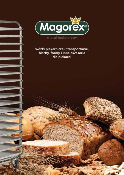MAGOREX katalog produktów dla piekarni