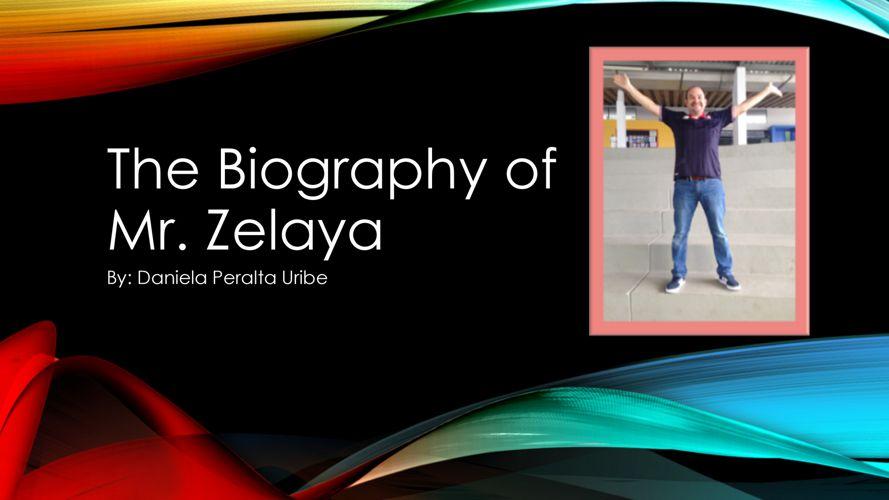 Daniela Peralta - Mr. Zelaya