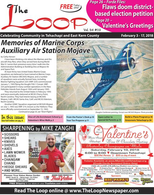 The Loop Newspaper Vol 34 No 02 - Feb 3 to 17, 2018