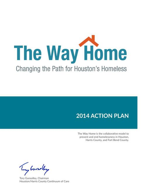 The Way Home 2014 Action Plan, November 2014