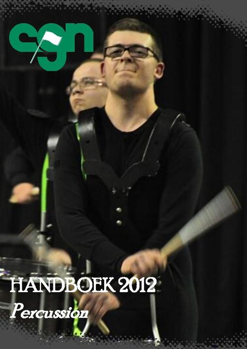 CGN Indoor Percussion Handboek 2012