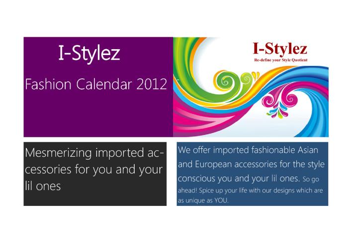 I-Stylez Calendar 2012