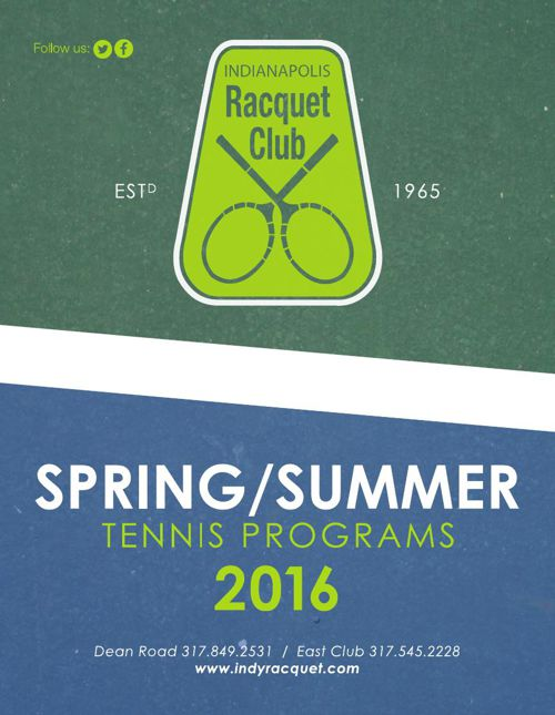 IRC Spring/Summer Tennis Programs 2016