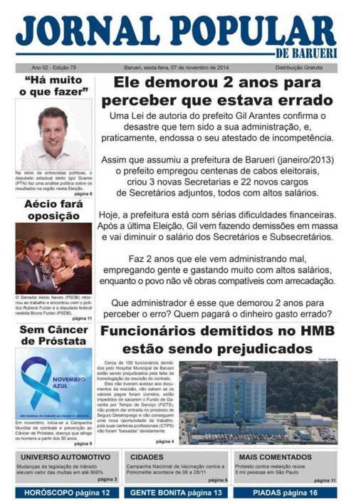 79ª edição do Jornal Popular de Barueri