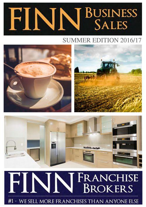 Finn Business Sales Toowoomba Magazine_Summer 1617