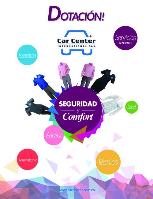 Catálogo de Dotación Car Center