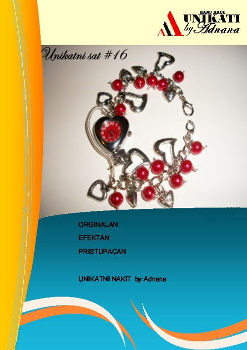 Unikatni nakit by Adnana - Katalog za 2011 g.