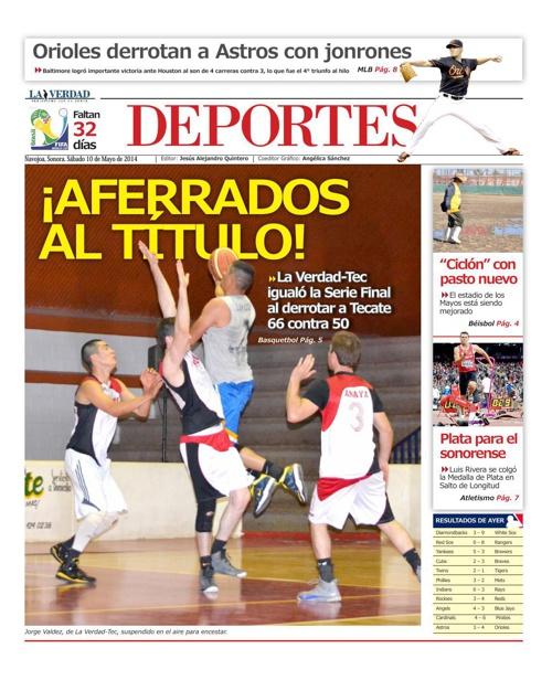 DEPORTES 10 DE MAYO 2014