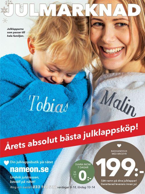 Julmarknad NameOn Sverige