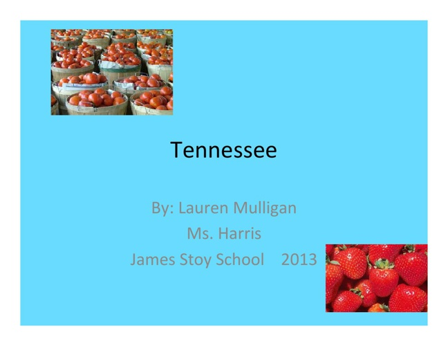 Tennessee by Lauren