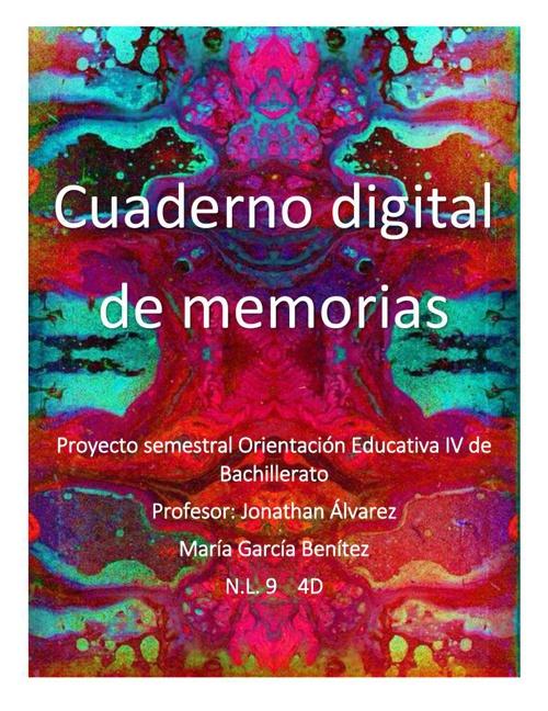 Cuaderno digital de memorias