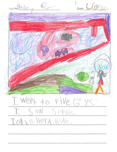 Bailey's Published Writing