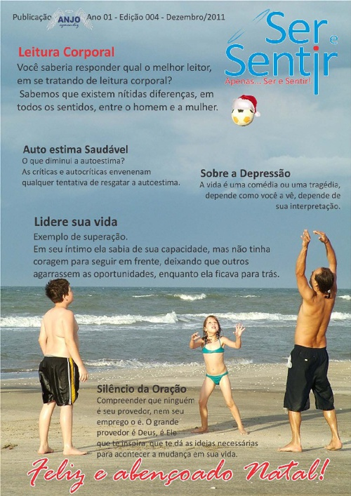 Revista Ser e Sentir - Edição Nº 4 - Dezembro 2011