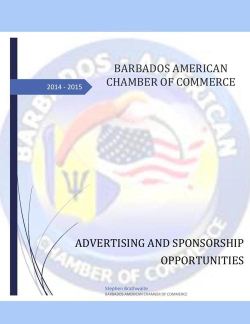 Sponsorship Opportunities 2014 - 2015