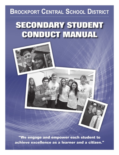 BCSD Secondary Student Conduct Manual