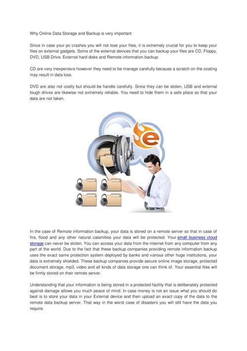 secure online storage
