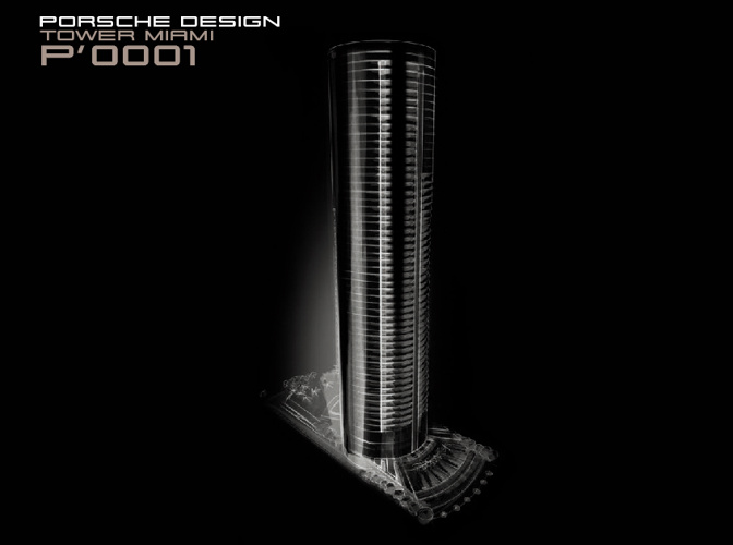 Porsche Design Tower brochure